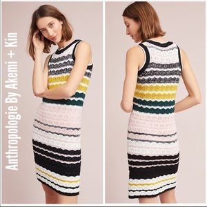 Anthropologie | Akemi + Kin Crochet Dress Size M